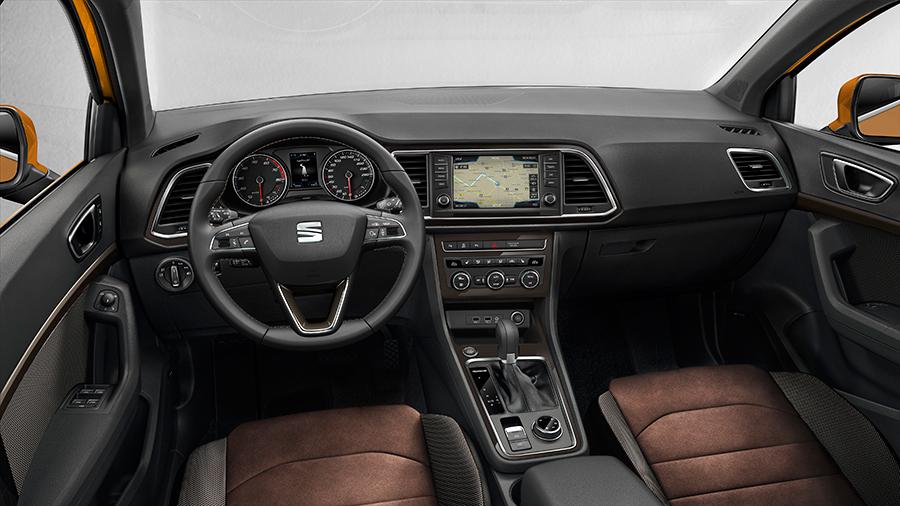 """SEAT Ateca interior pantalla touch de 8"""""""