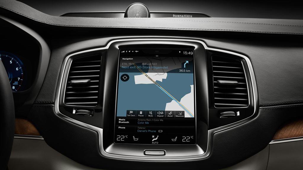 Volvo CX90 2016 pantalla