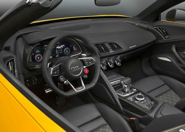 Audi R8 Spyder V10 2017 interior