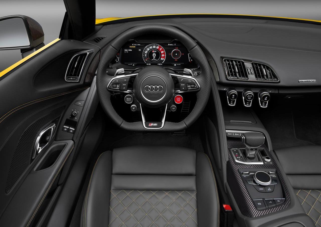 Audi R8 Spyder V10 2017 volante