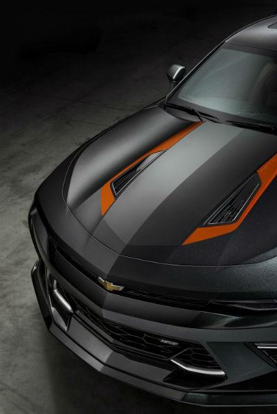 Chevrolet Camaro 50 Aniversario frontal