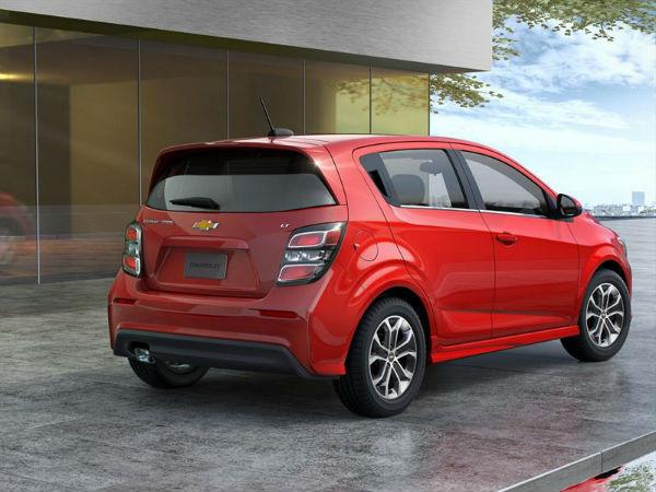 Chevrolet Sonic 2017 Hatchback vista posterior