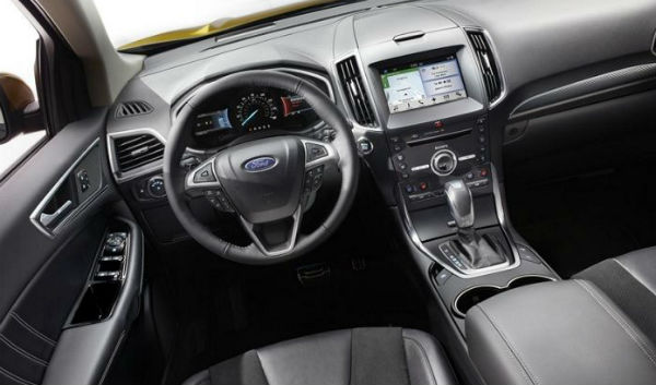 Ford Edge Sport 2016 interior