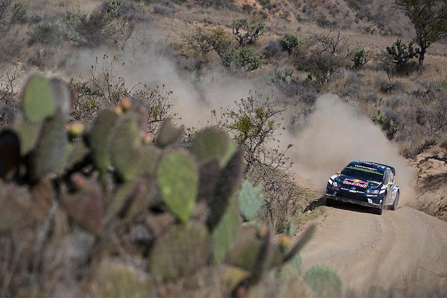 VW Polo R WRC Rally México Guanajuato