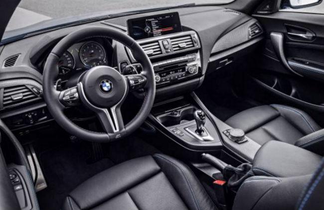 Bmw M2 Coup 233 2017 Interior Autos Actual M 233 Xico