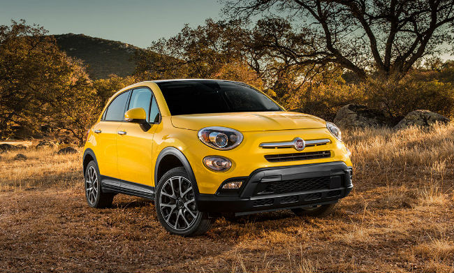 Ffiat 500x Trekking Plus 2016
