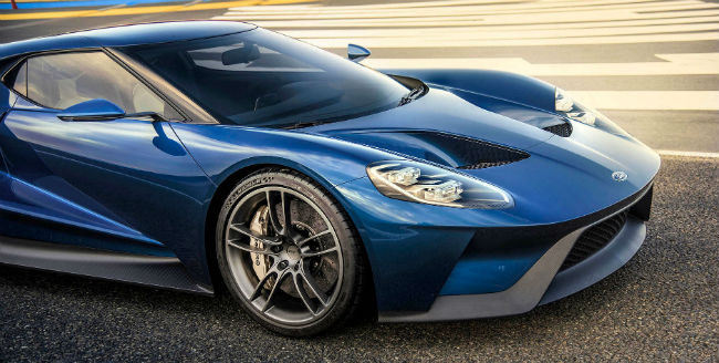 Ford GT vista lateral