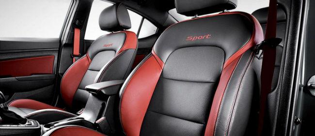 Hyundai Elantra Sport interior
