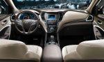Hyundai Santa Fe 2017 interior
