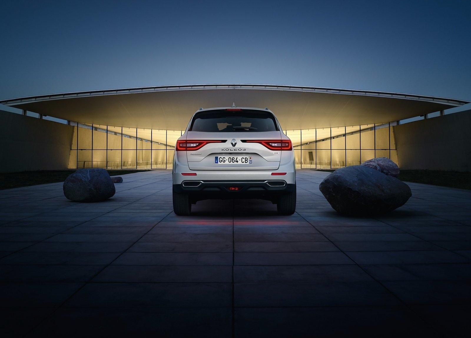 Renault Koleos 2017 vista posterior
