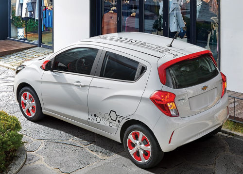 Chevrolet Spark Hot 2016 diseño