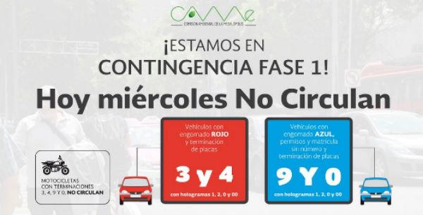 Contingencia Ciudad de México