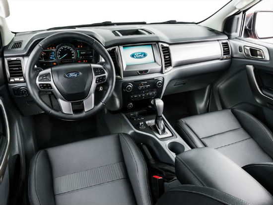Ford Ranger 2017 interior
