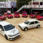 Volkswagen celebra 40 años del Golf GTI
