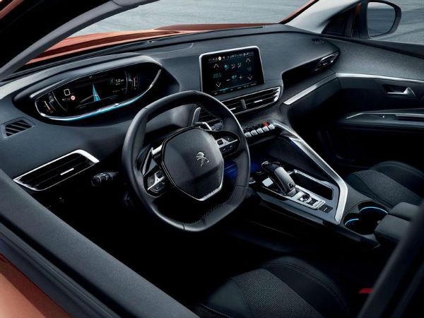 Peugeot 3008 2017 interior
