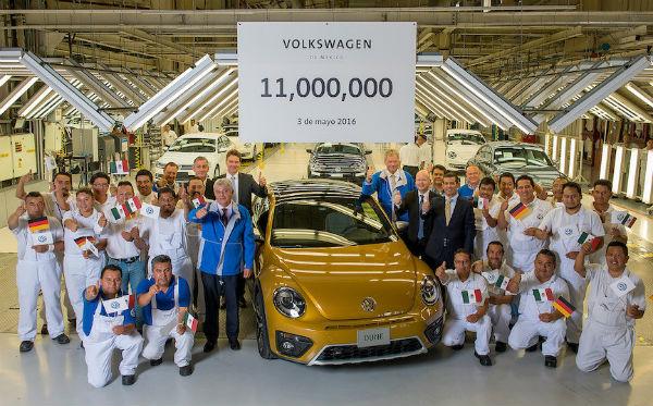 Volkswagen planta de Puebla