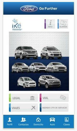 Ford app Asistencia 24 Horas