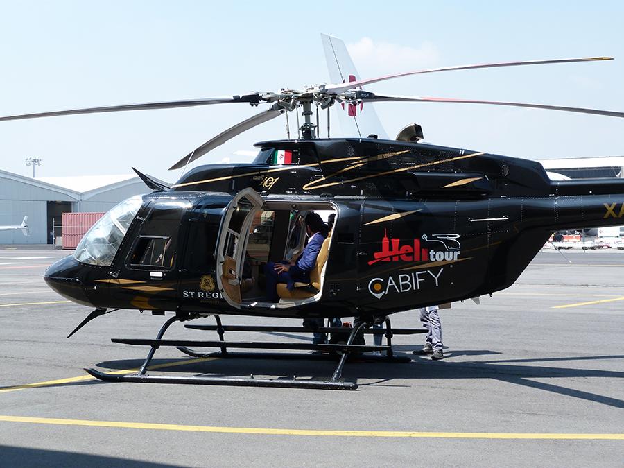 Cabify presenta CabiFLY Shuttle: trayectos en helicóptero en la CDMX