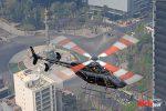 CabiFLY Shuttle helicóptero en servicio en la CDMX