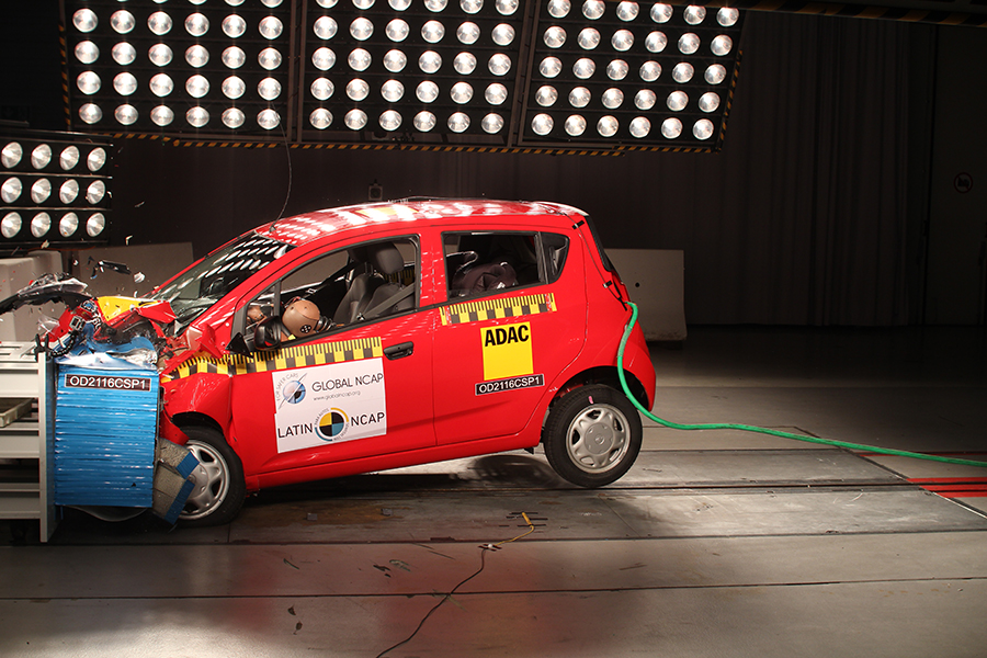 Chevrolet Spark GT logra cero estrellas en seguridad en Latin NCAP