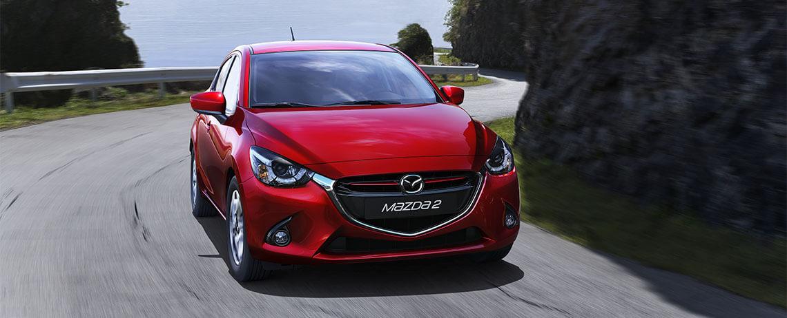 Mazda 2 2017 México color rojo