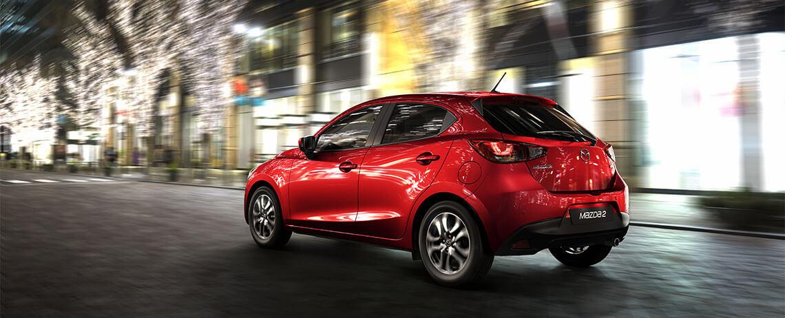 Mazda 2 2017  México posterior cajuela