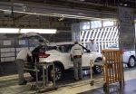 Nissan Kicks para en México en Planta Aguascalientes inspección