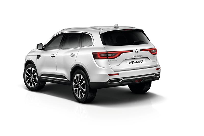 Nuevo Renault Koleos 2017  para México parte trasera