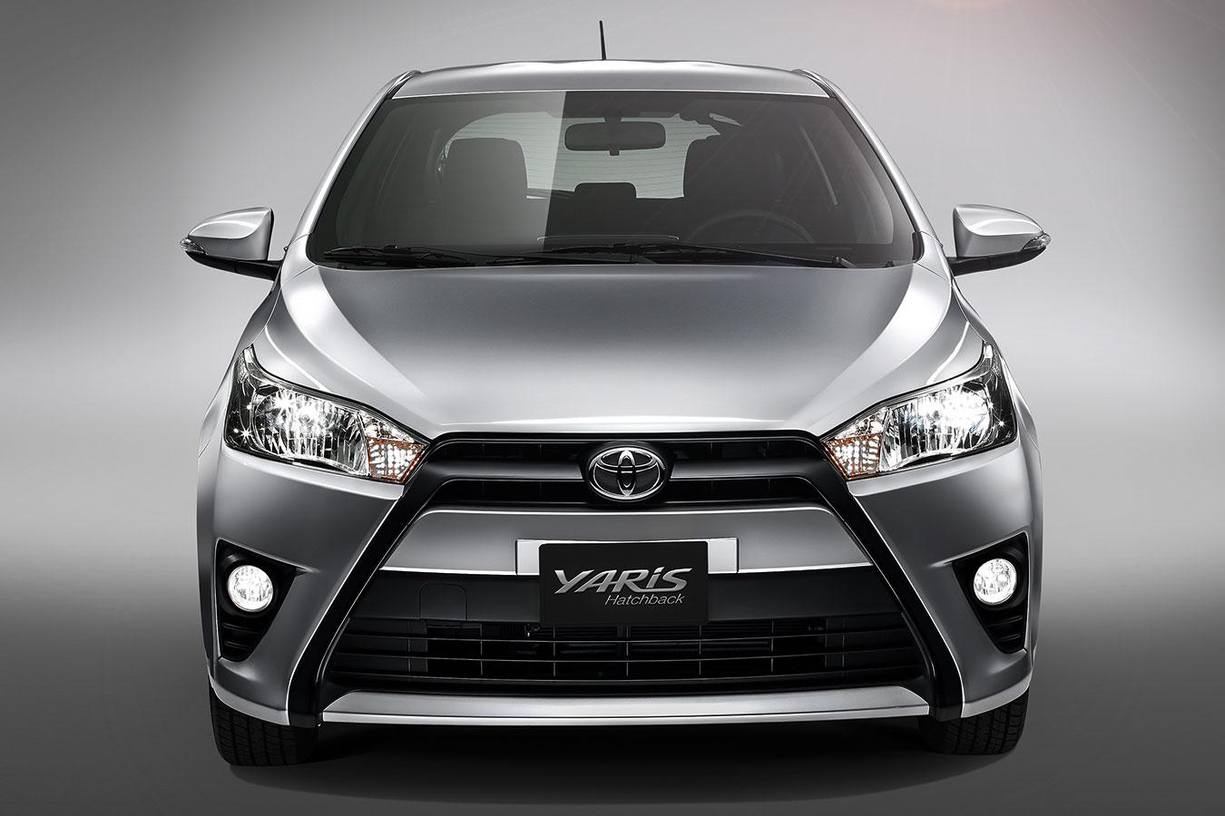 Toyota Yaris Hatchback 2017 en México frente