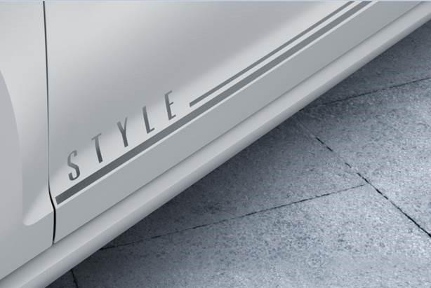 Volkswagen Golf Style 2017 en México, detalles laterales