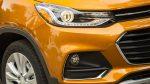 Chevrolet Trax 2017 en México faros de halógeno y detalles LED