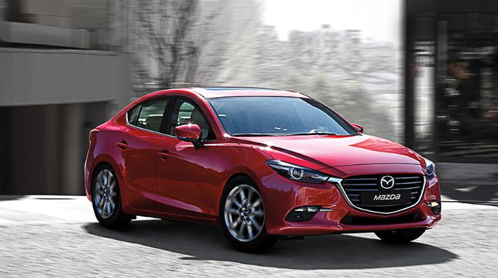 Mazda 3 sedán 2017 para México