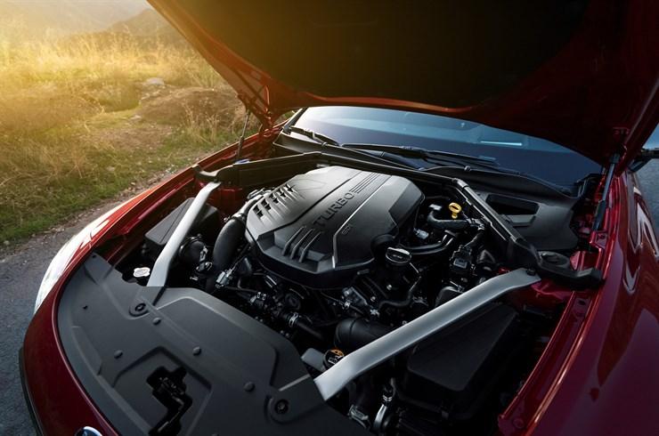 Kia Stinger 2018 motor turbo