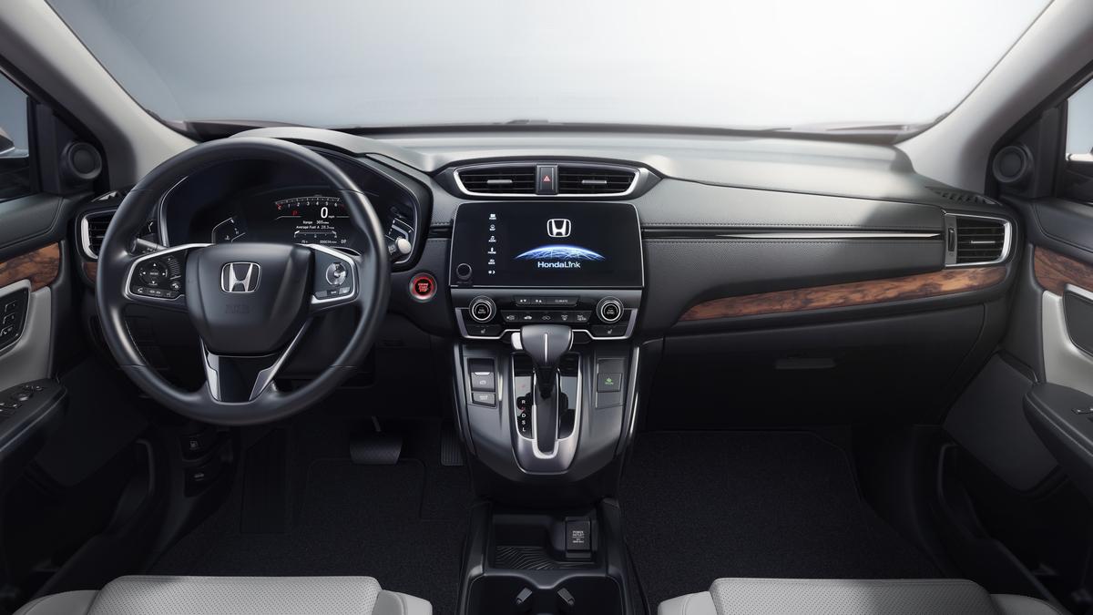 Nueva CR-V 2017 en México interior pantalla touch
