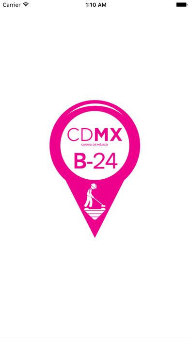 App Bache 24 CDMX logotipo