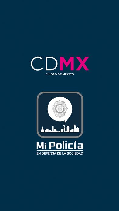 App Mi Policía en CDMX