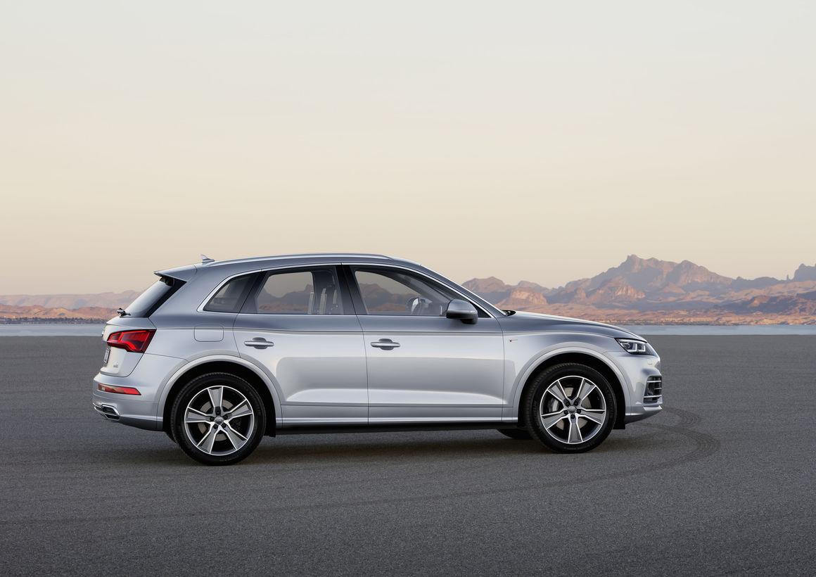 Audi Q5 2018 en México de lado