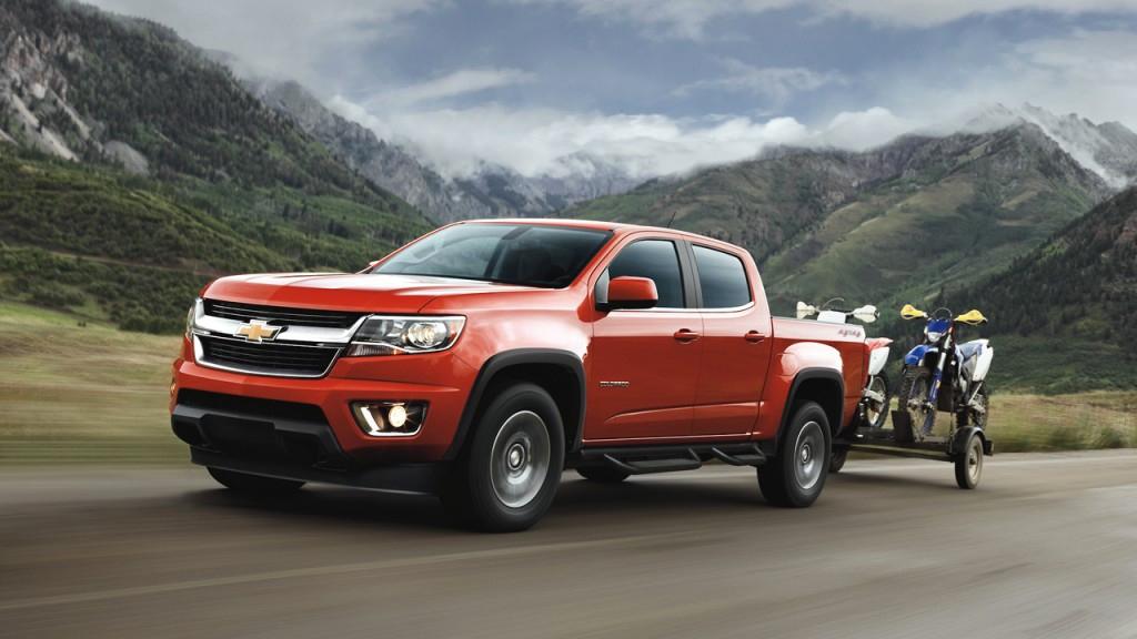 Chevrolet Colorado 2017 en México carretera