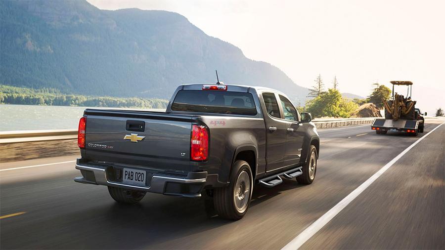 Chevrolet Colorado 2017 en México posterior caja