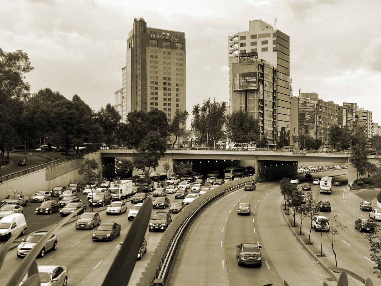 Ciudad de México tráfico