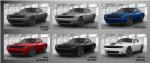 Dodge Challenger Blacktop 2017 en México opciones de colores