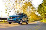 Nuevo Fiat Mobi 2017 en México color azul versión Like