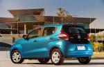 Nuevo Fiat Mobi 2017 en México color azul versión Like cajuela