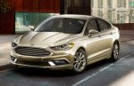 Ford Fusion híbrido 2017 color blanco oro
