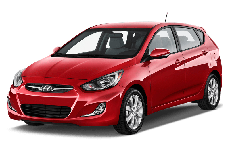 Hyundai Accent 2017 color rojo