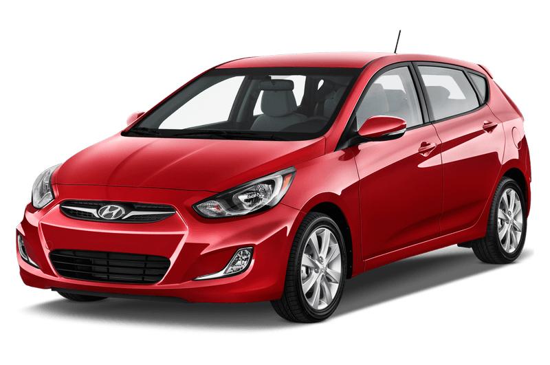 Hyundai Accent 2017 color rojo