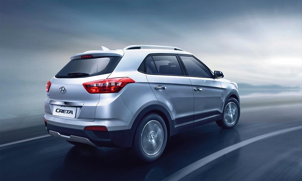 Hyundai Creta 2017 en México posterior