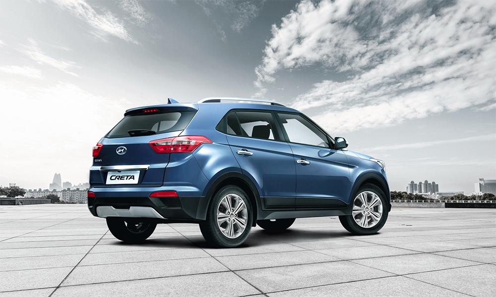 Hyundai Creta 2017 En M 233 Xico Posterior Color Azul Autos