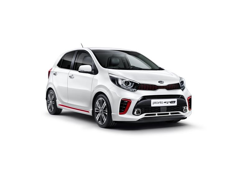 Kia Picanto 2018 frente color blanco