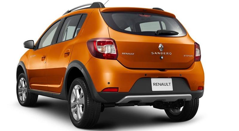 Renault Stepway 2017 en México nuevo diseño posterior